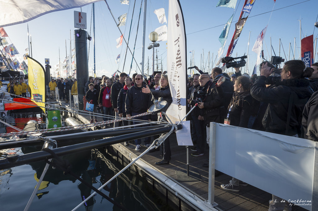 Vendée Globe 2016 / Stéphane le Diraison